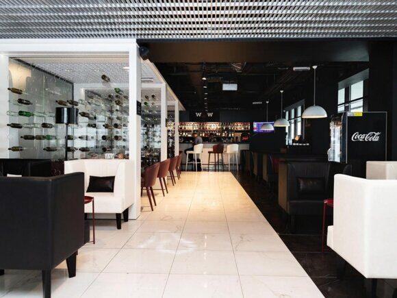 мебель для кафе, портфолио особинка, Аэропорт Пулково, г. Санкт-Петербург, WOW bar (4)