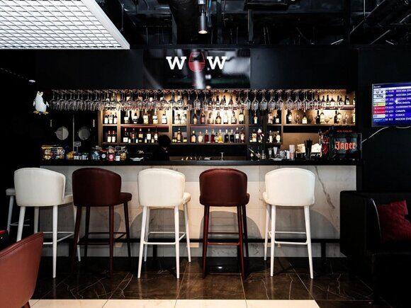 мебель для кафе, портфолио особинка, Аэропорт Пулково, г. Санкт-Петербург, WOW bar (5)