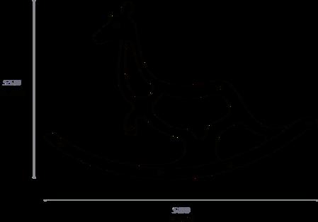 Детская качалка Moo схема